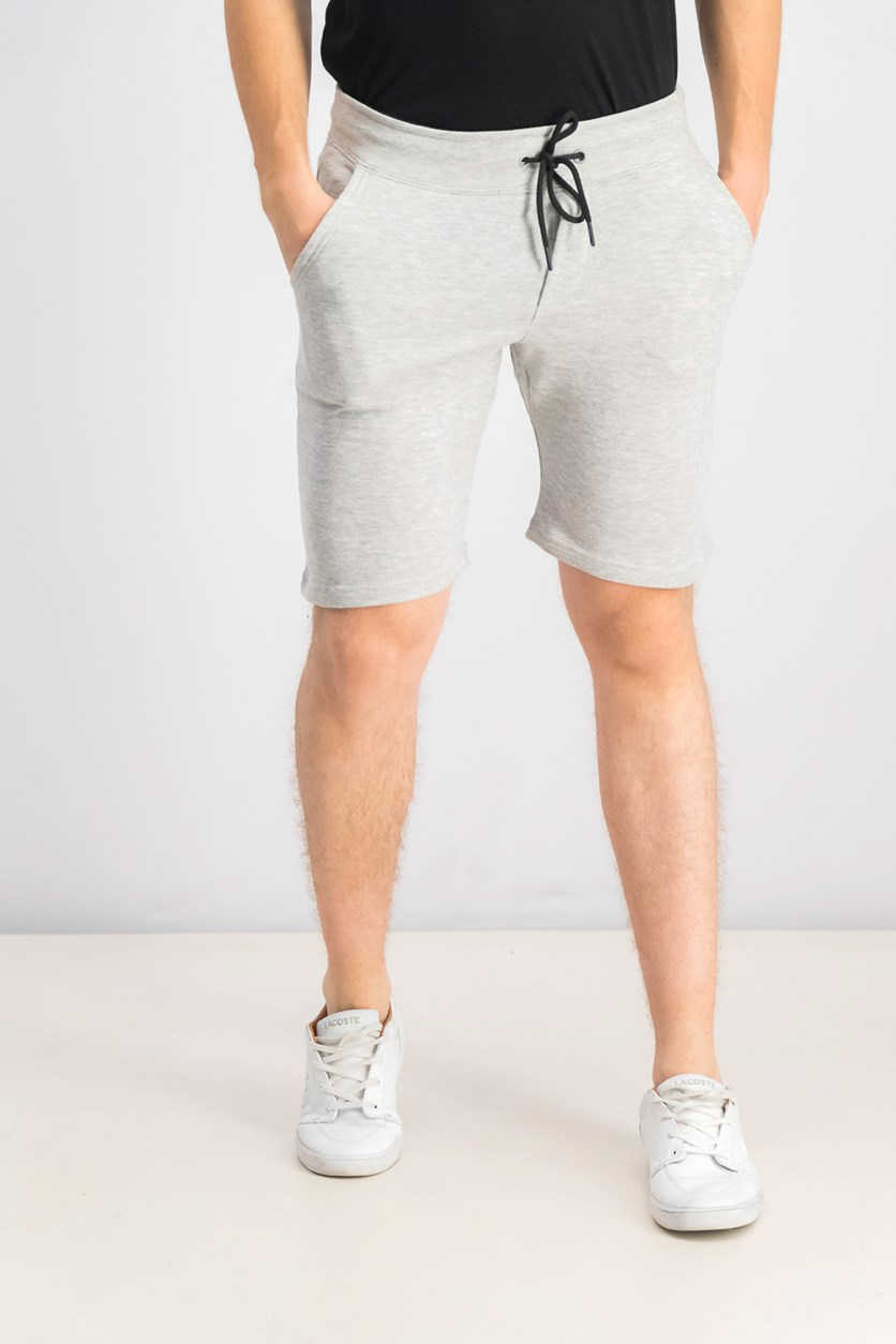Men's Drawstring Short, Heather Grey