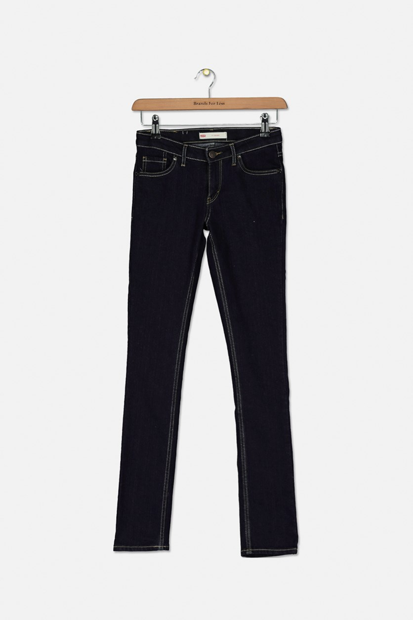 Big Girls' Slim The Skinny Jeans, Navy