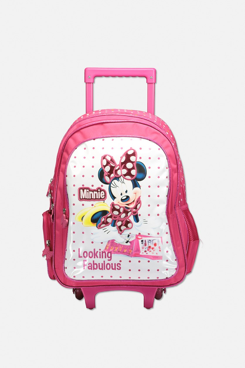 Minnie Mouse Fabulous Trolley, Pink Combo