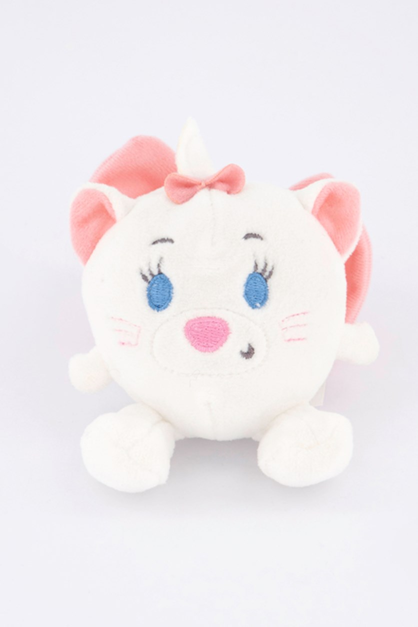 Mary 8 cm Soft Toy, White/Pink