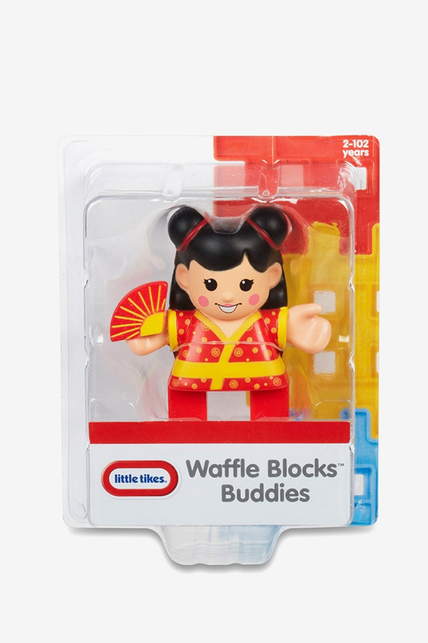 Waffle Blocks Figure Pack, Red