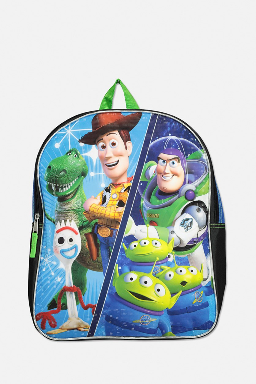 Toy Story 4 Bag, Blue/Green/Yellow/Brown