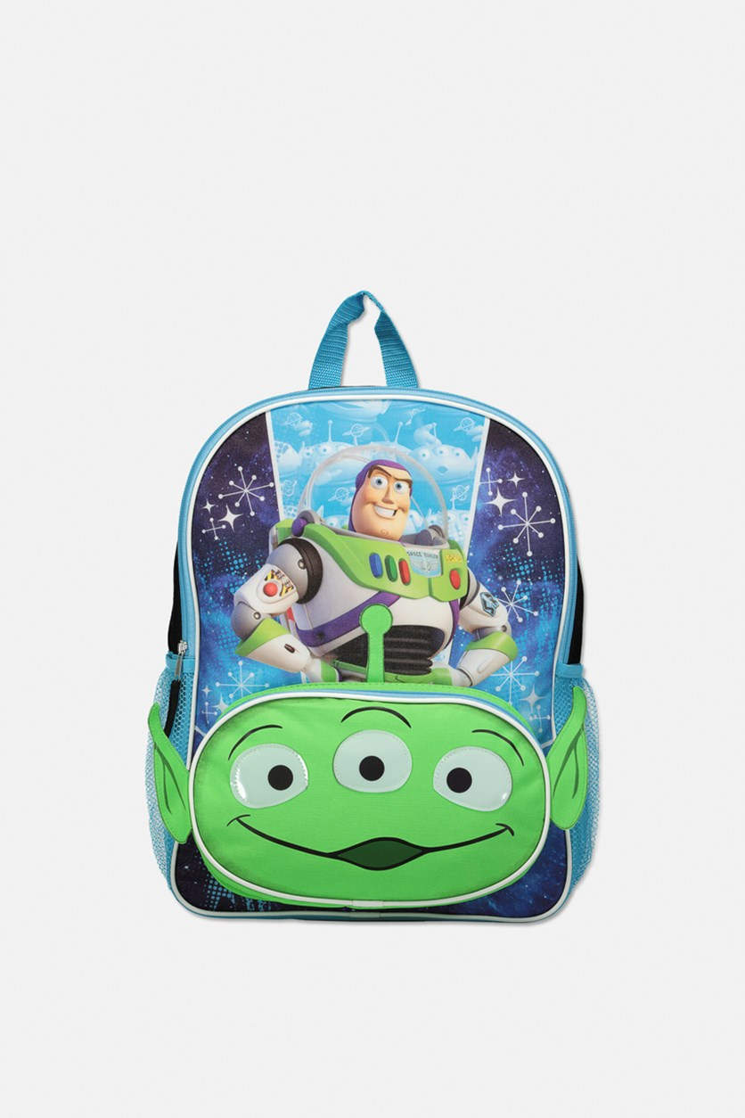 Toy Story Buzz Lighyear Back Pack, Blue/Green