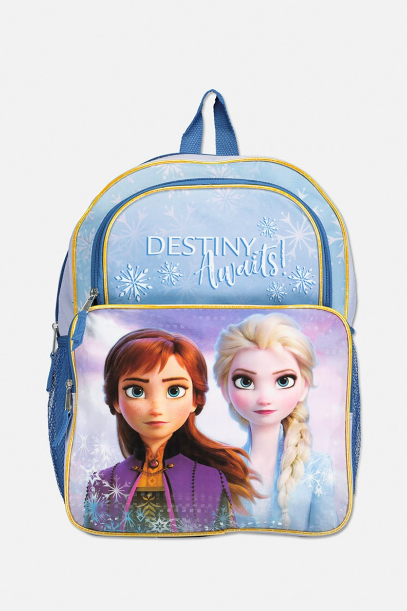 Frozen Destiny Awaits Backpack, Purple/Blue