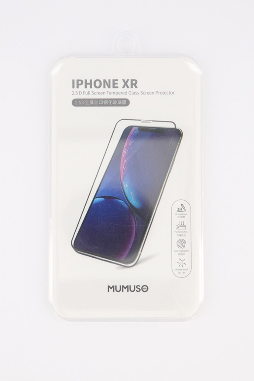 2.5 D Full Glass Tempered Glass Screen Protector For Iphone XR