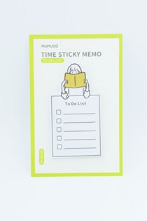 Time Sticky Note, Yellow