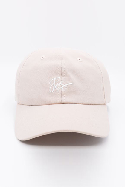 Letters Embroidered Baseball Cap, Pink