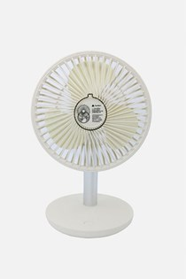 Desktop Fan, White