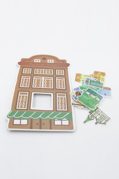 Sticker Pack-Playland, Brown