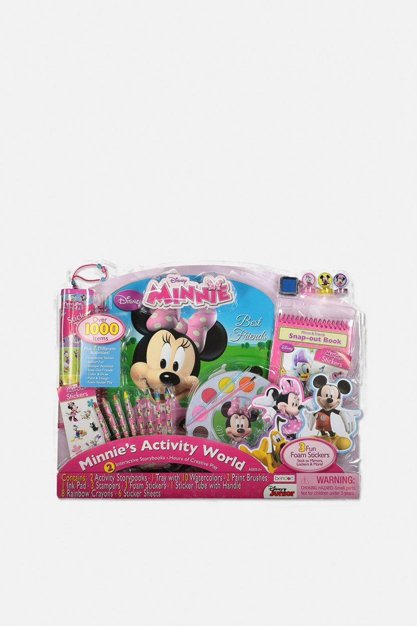 Minnie's Activity World, Pink/Blue