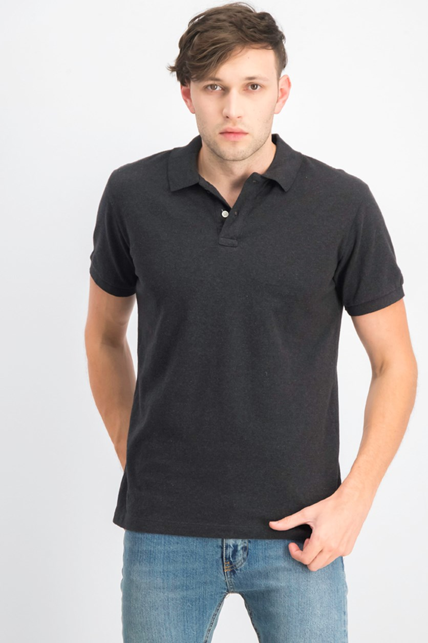 Men's Polo Shirt, Charcoal