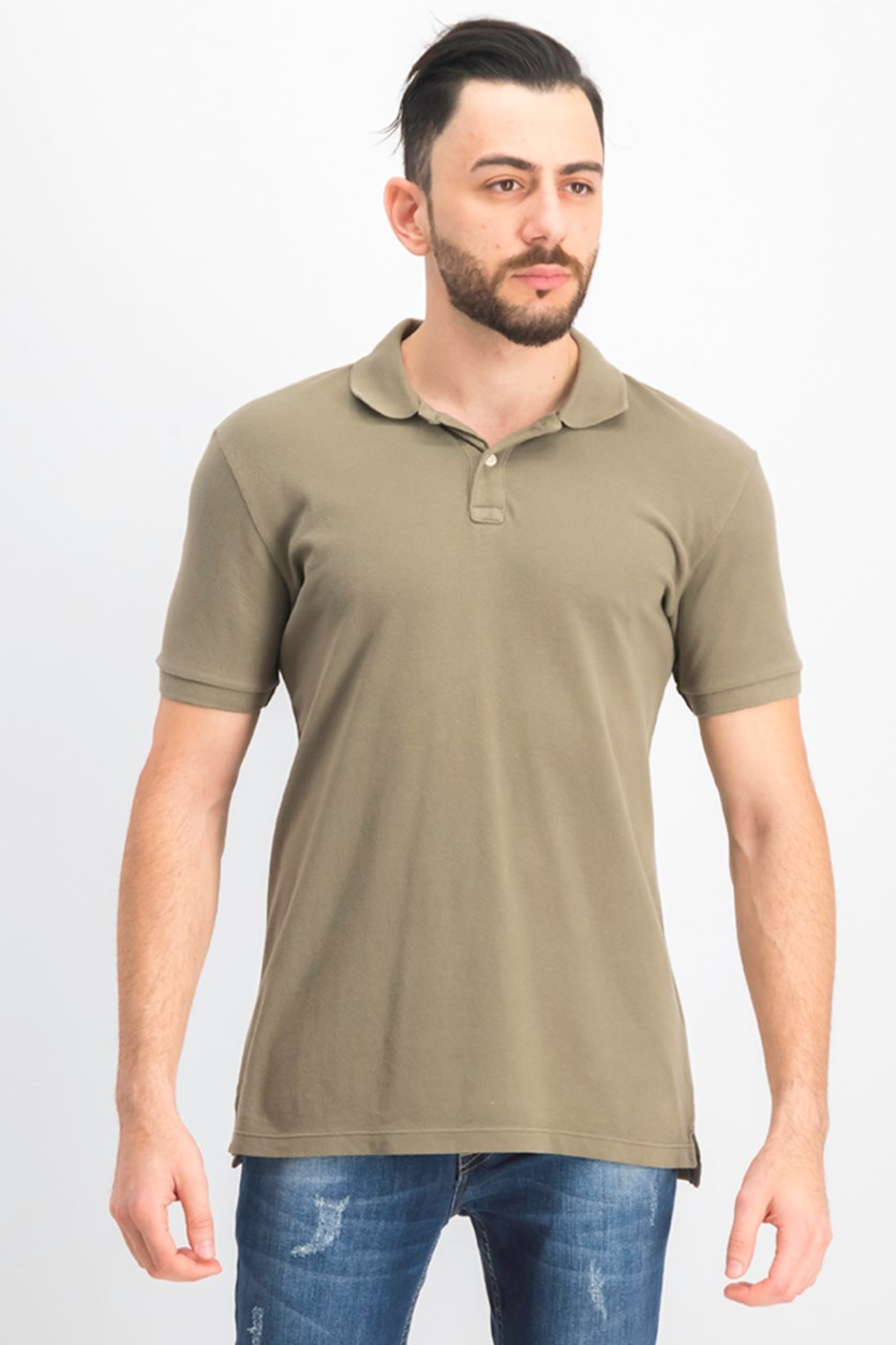 Men's Polo Shirt, Light Olive