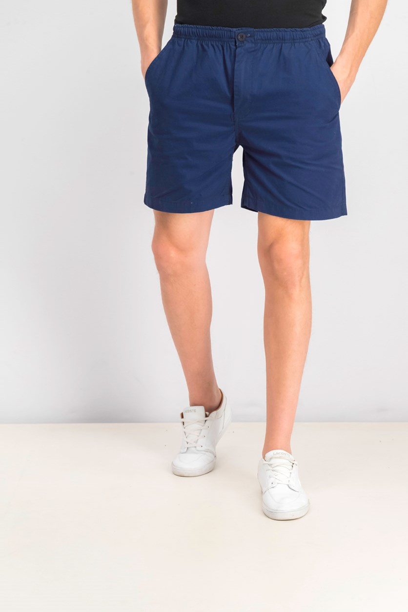 Men's Hawaiian Short, Navy Blue