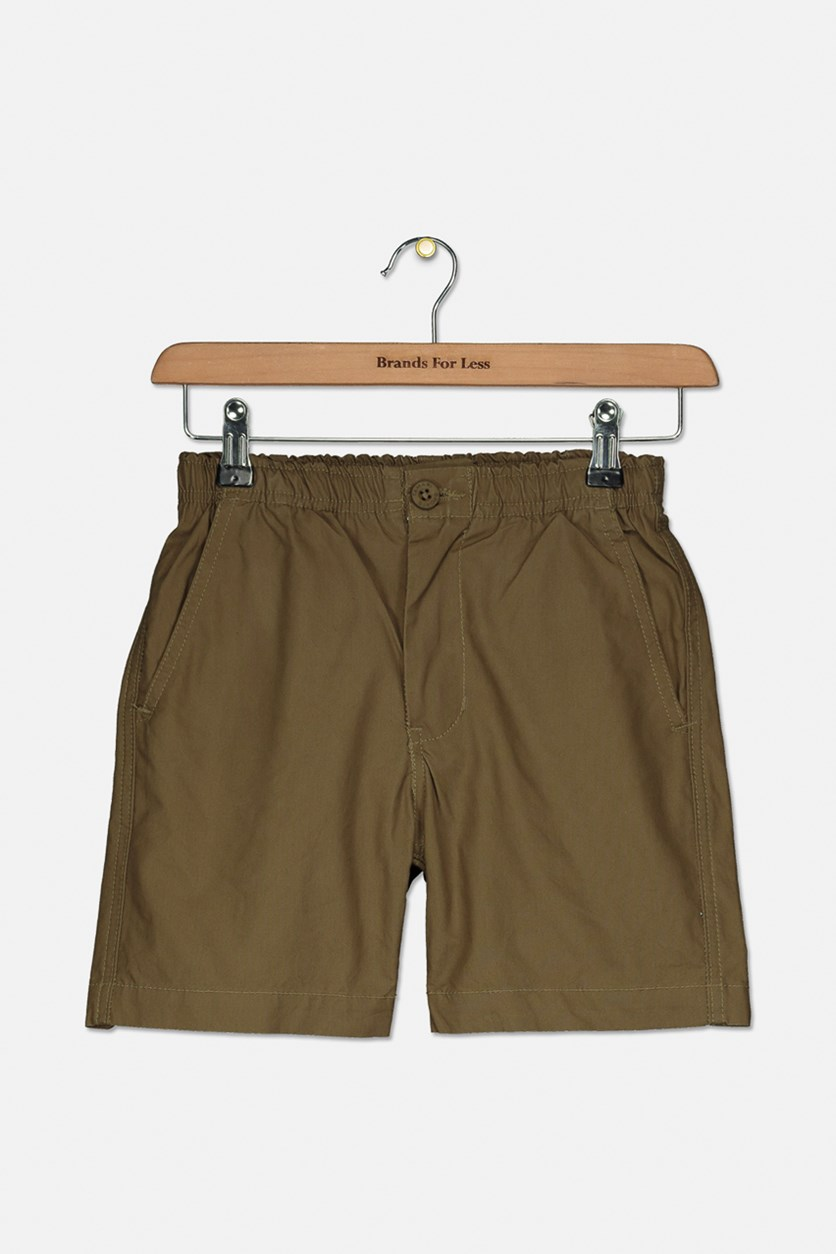 Boy's Chino Short, Khaki