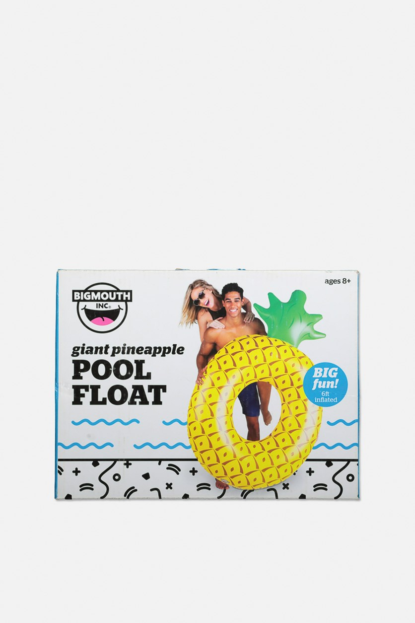 Giant Inflatable Pineapple PooI FIoat, Yellow