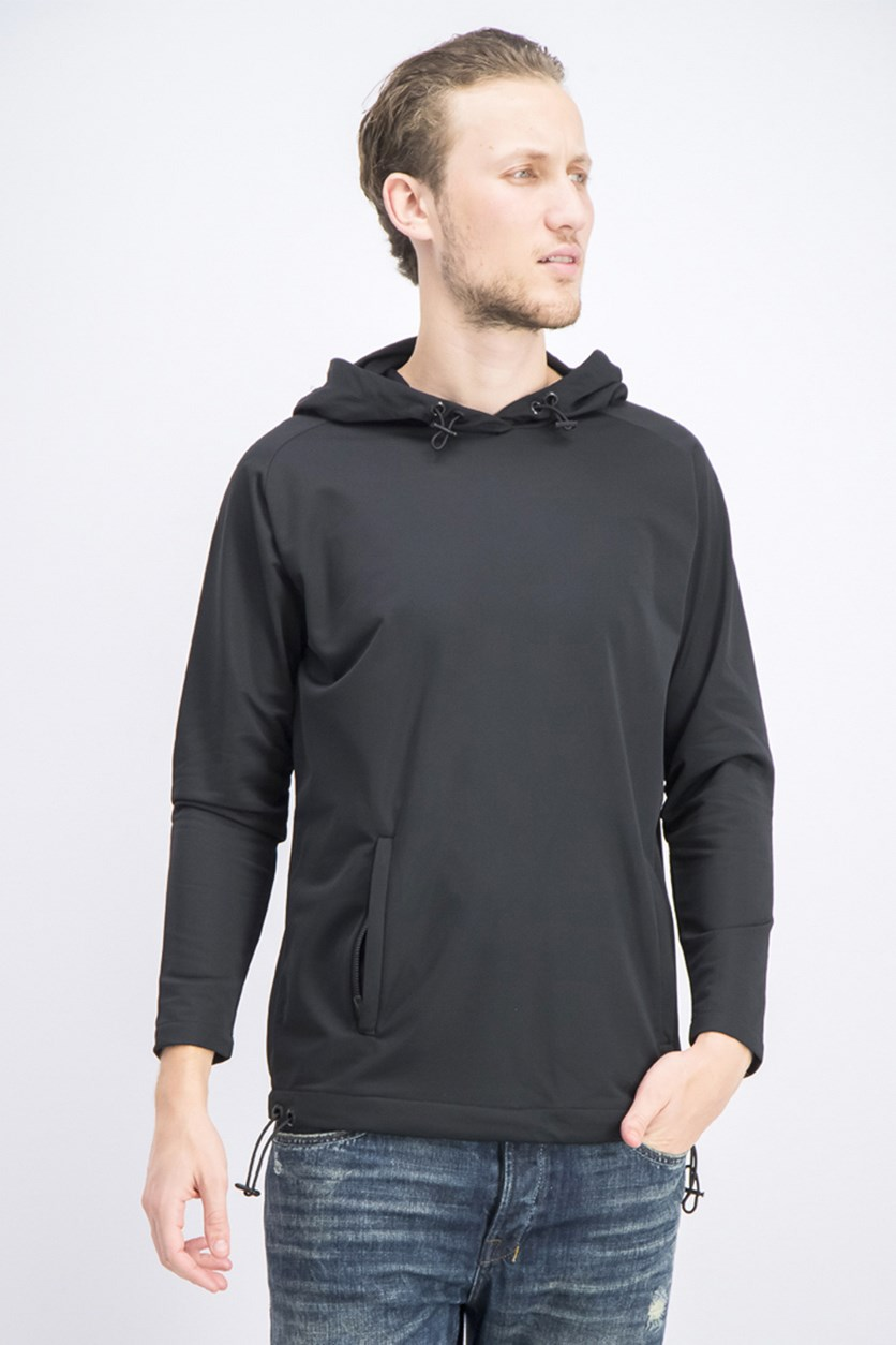 Men's Pullover Hoodie Jacket,  Black