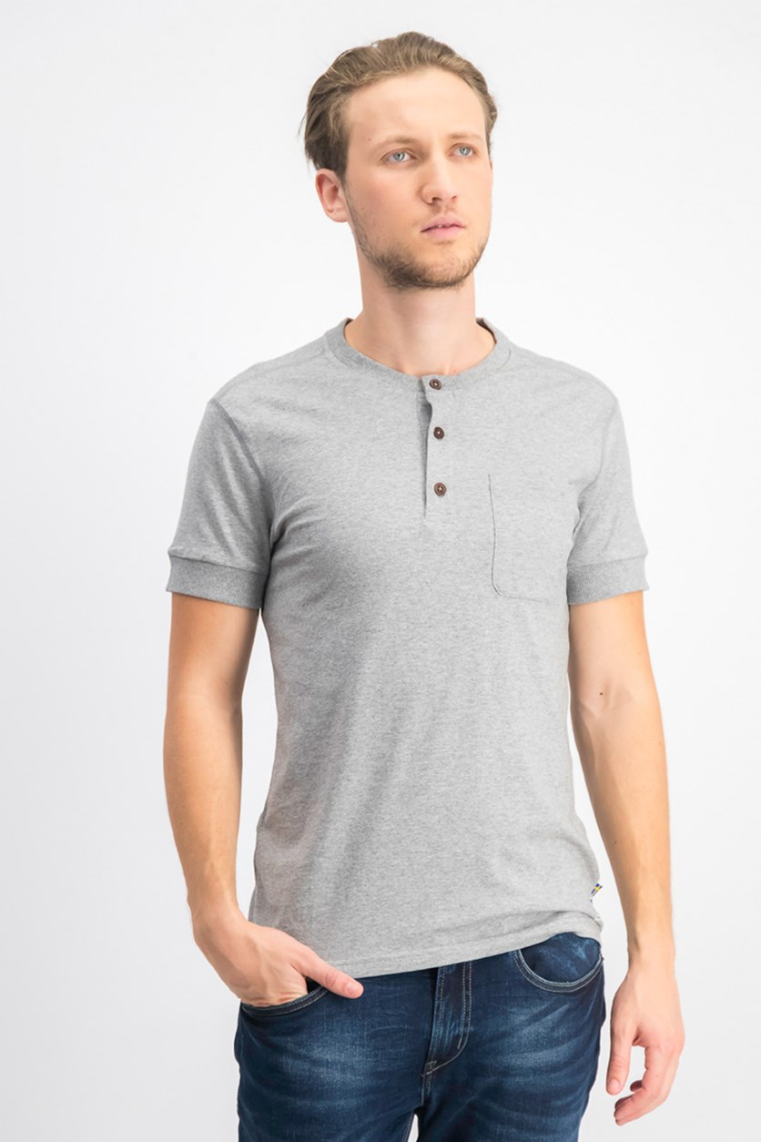Men's Plain T-shirt, Grey