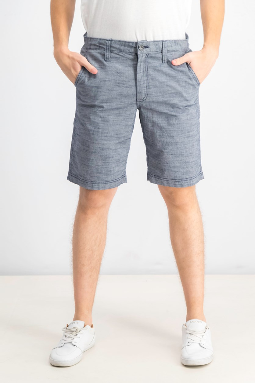 Men's Derryl Chambray Shorts, Blue