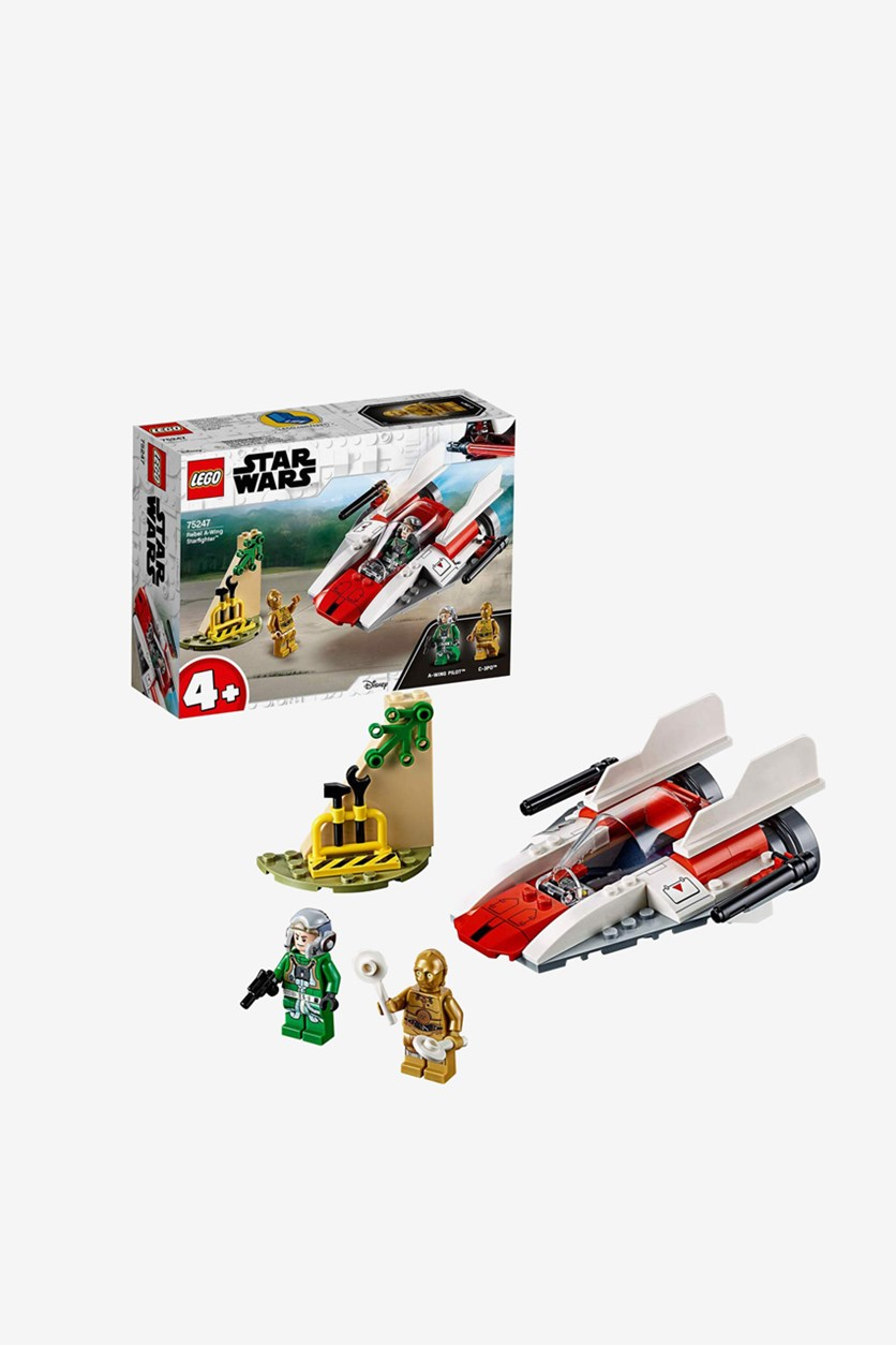 Star Wars Rebel A Wing Starfighter, White/Red