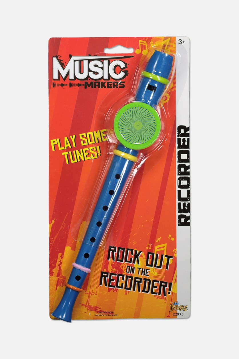 Music Makers Rock out on the Recorder, Blue