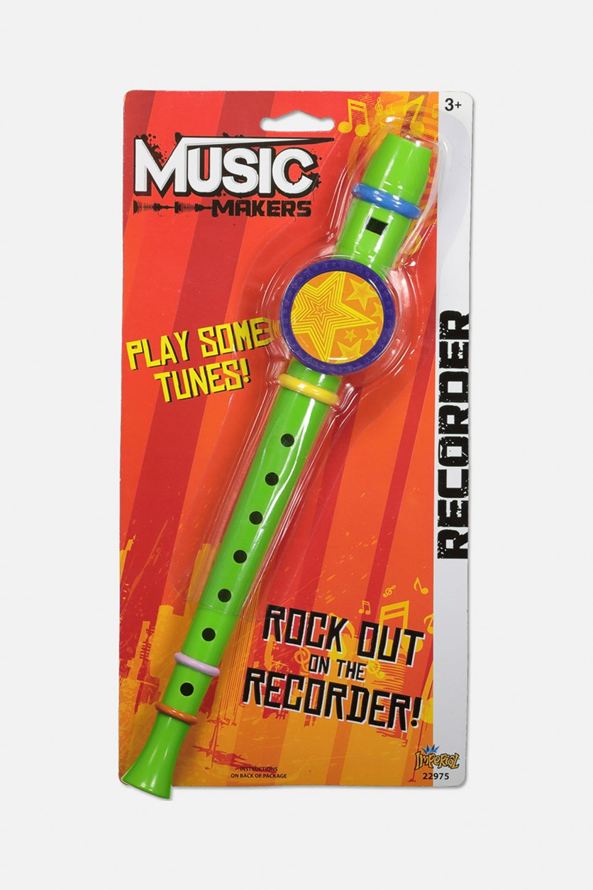 Music Makers Rock out on the Recorder, Green