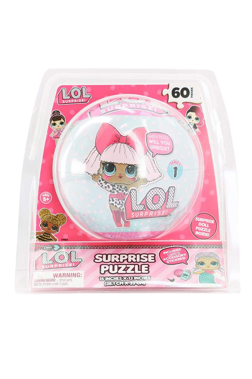 Surprise Doll Puzzle, Pink Combo