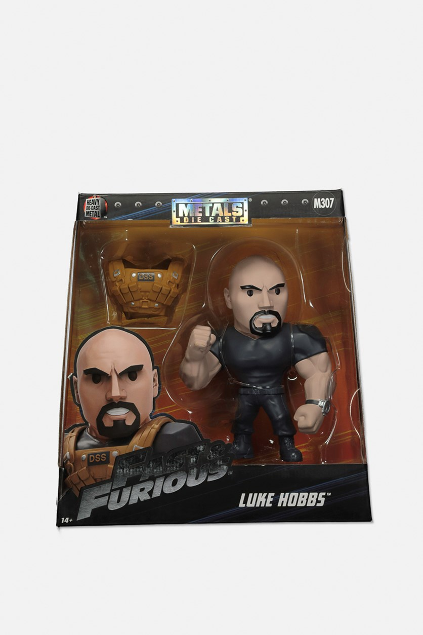 Fast & Furious Luke Hobbs Six Inches Figure, Black
