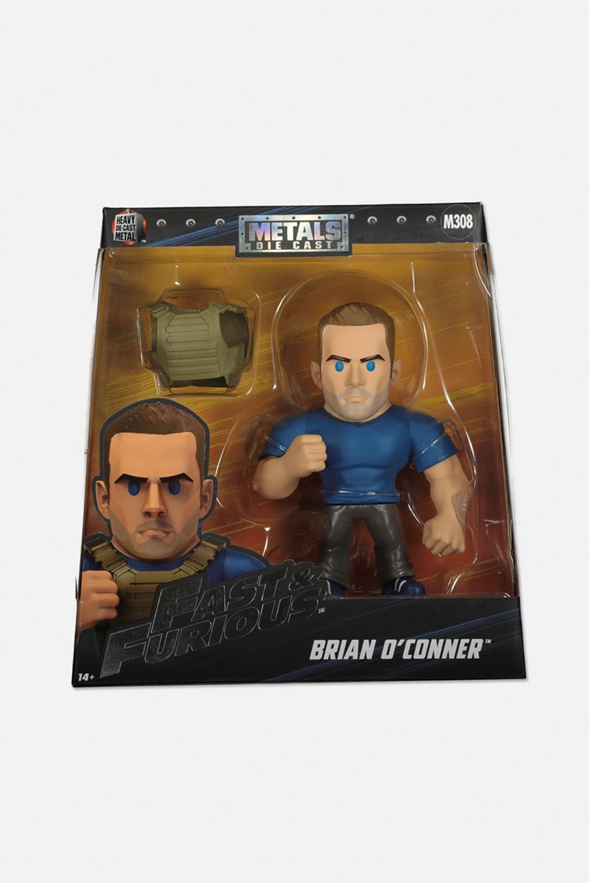 Fast and Furious Brian O'Connor 6 Inch Figure, Blue