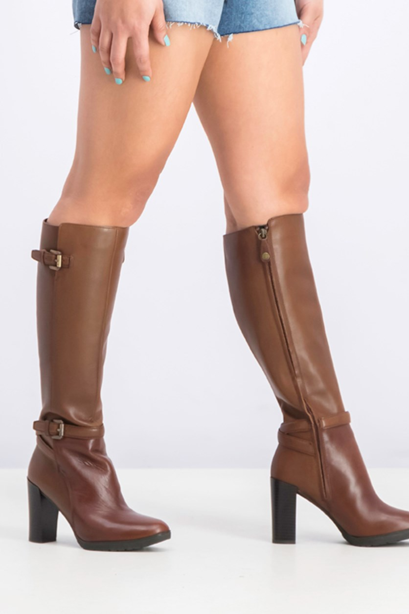 Women's Raphal Boots Shoes, Brown