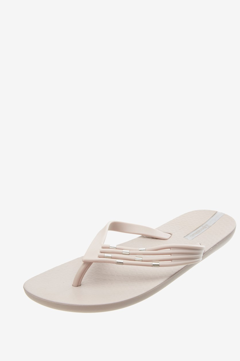Women's Premium Sunset Thong Slipper, Beige