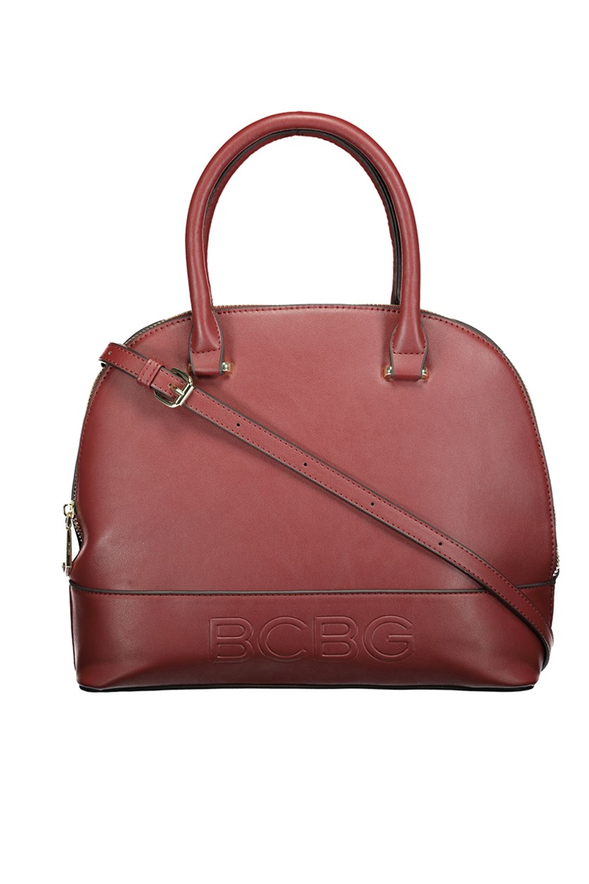 Women's  Poppy Dome Bag, Burgundy