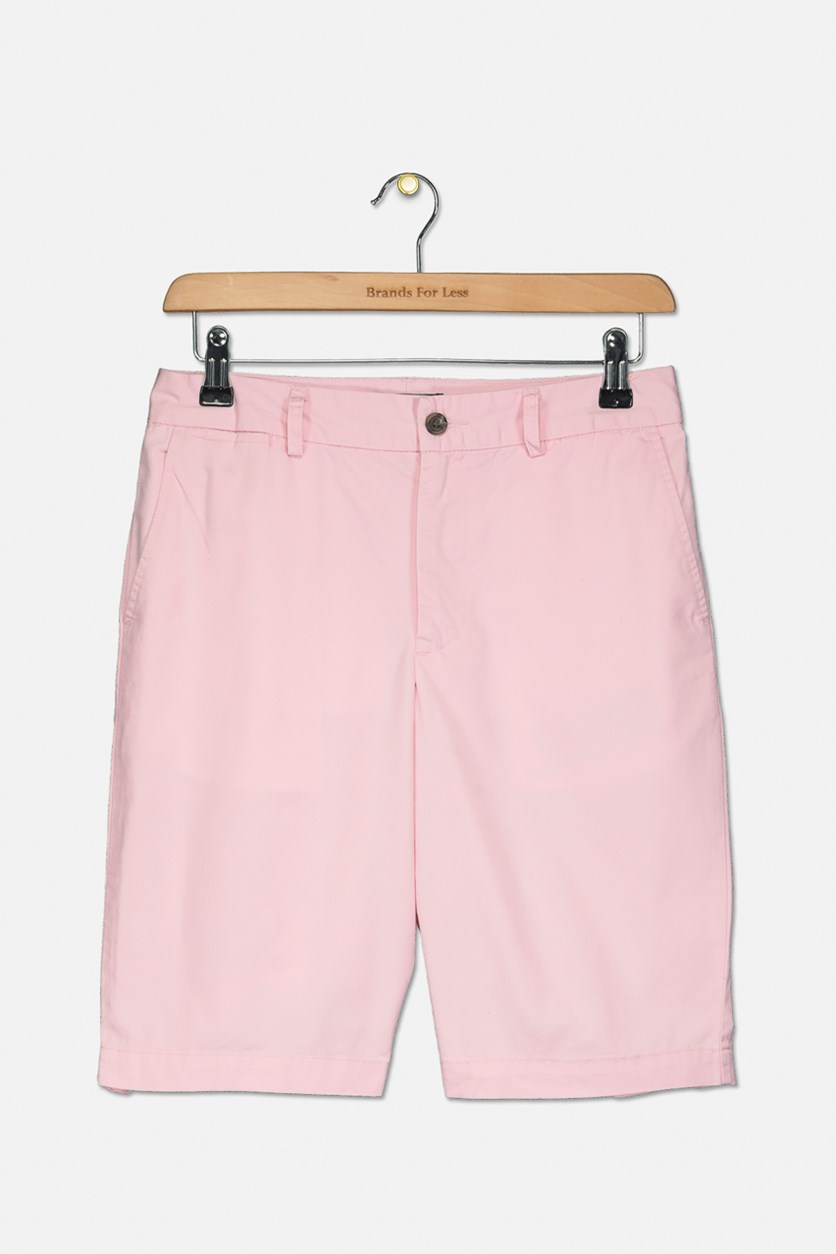 Boys' Chino Shorts, Pink