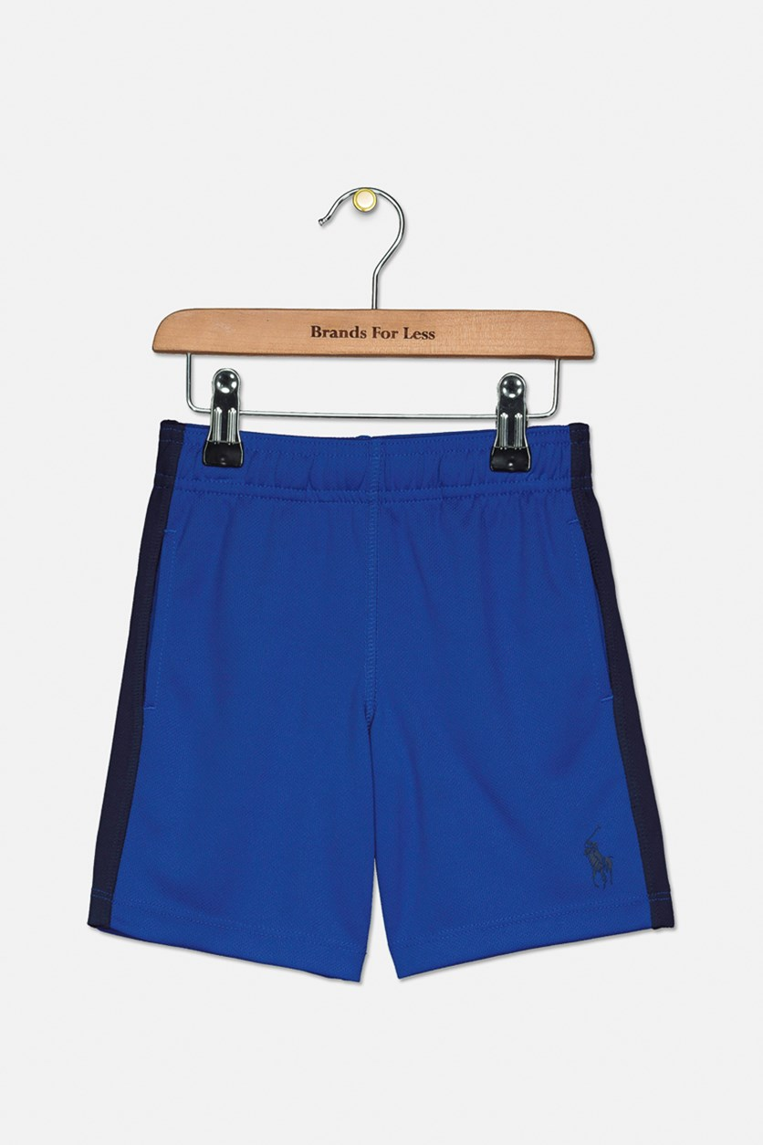 Little Boy's Performance Short, Blue