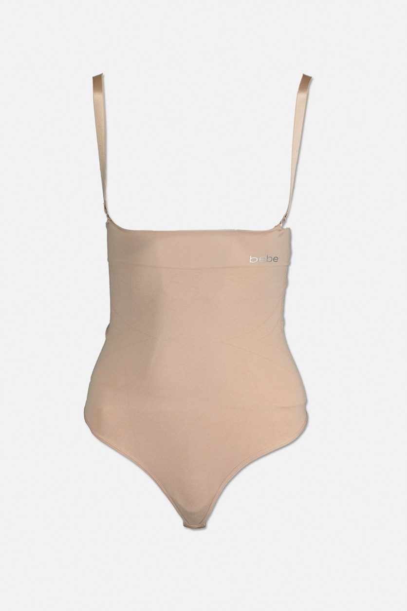 Women's Seamless Shaping Bodysuit Firm Control, Nude