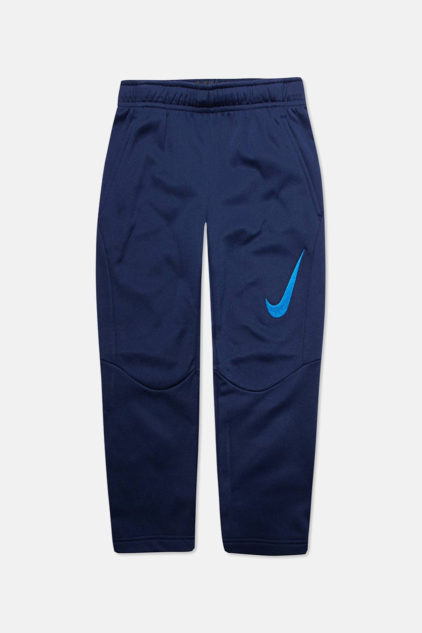 Little Boys Therma GFX Pants, Blue Void