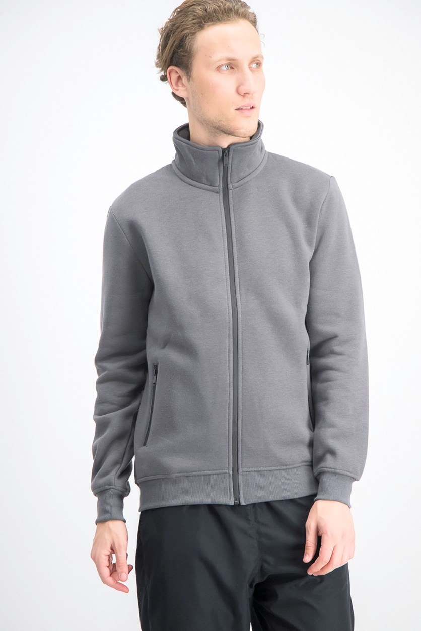 Men's Full Zip Jacket, Grey