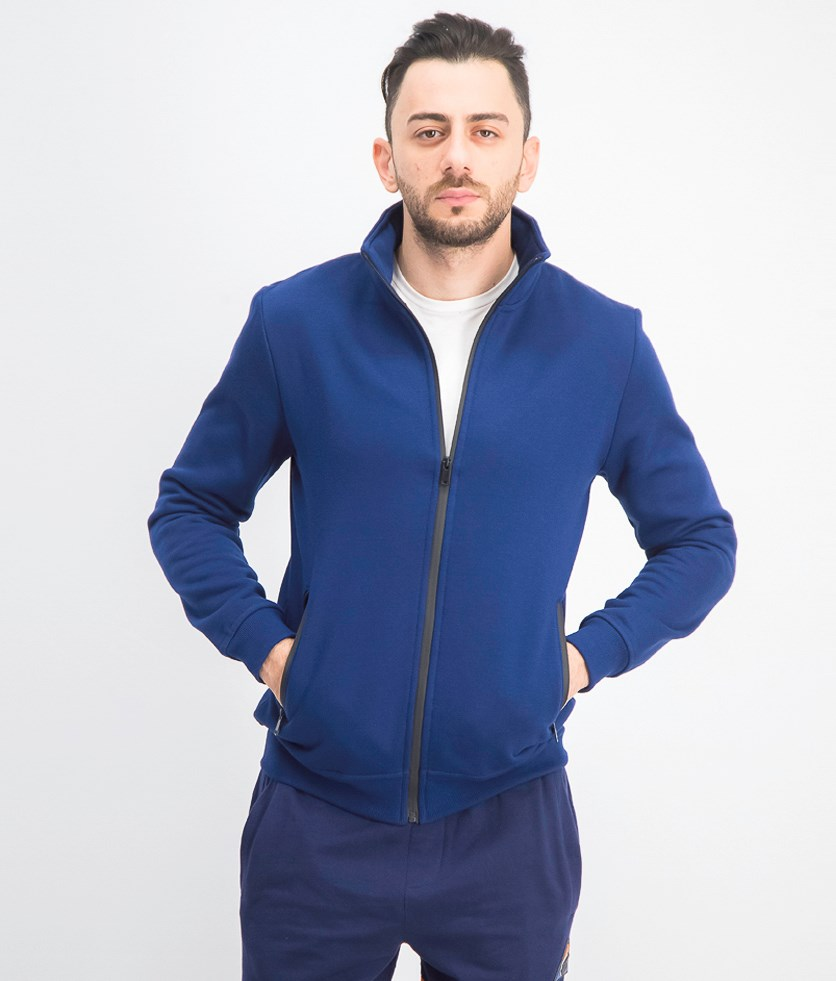 Men's Full Zip Jacket, Blue