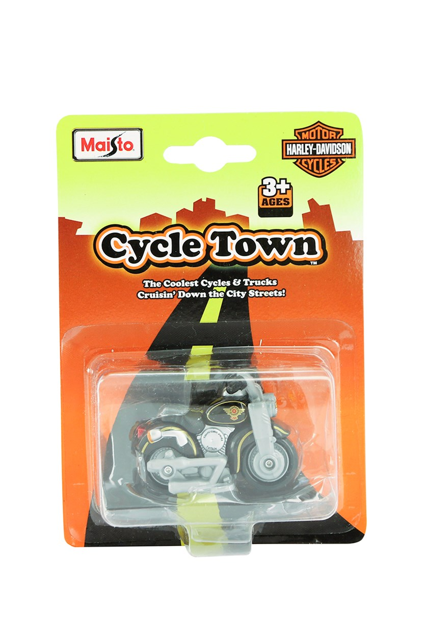 Cycle Town Harley Davidson Road Trip, Black/Gold Combo