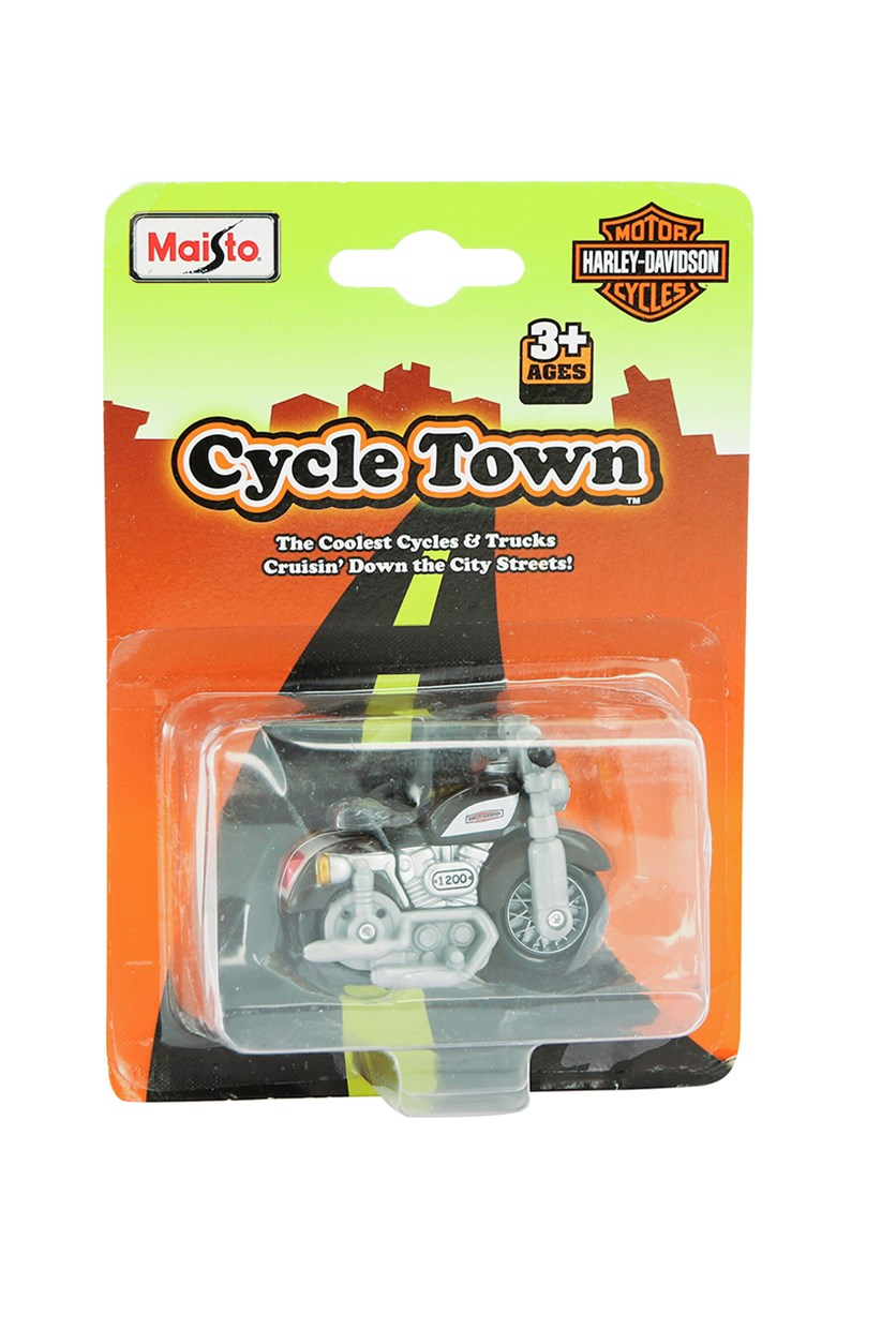 Cycle Town Harley Davidson Road Trip, Black/Grey Combo