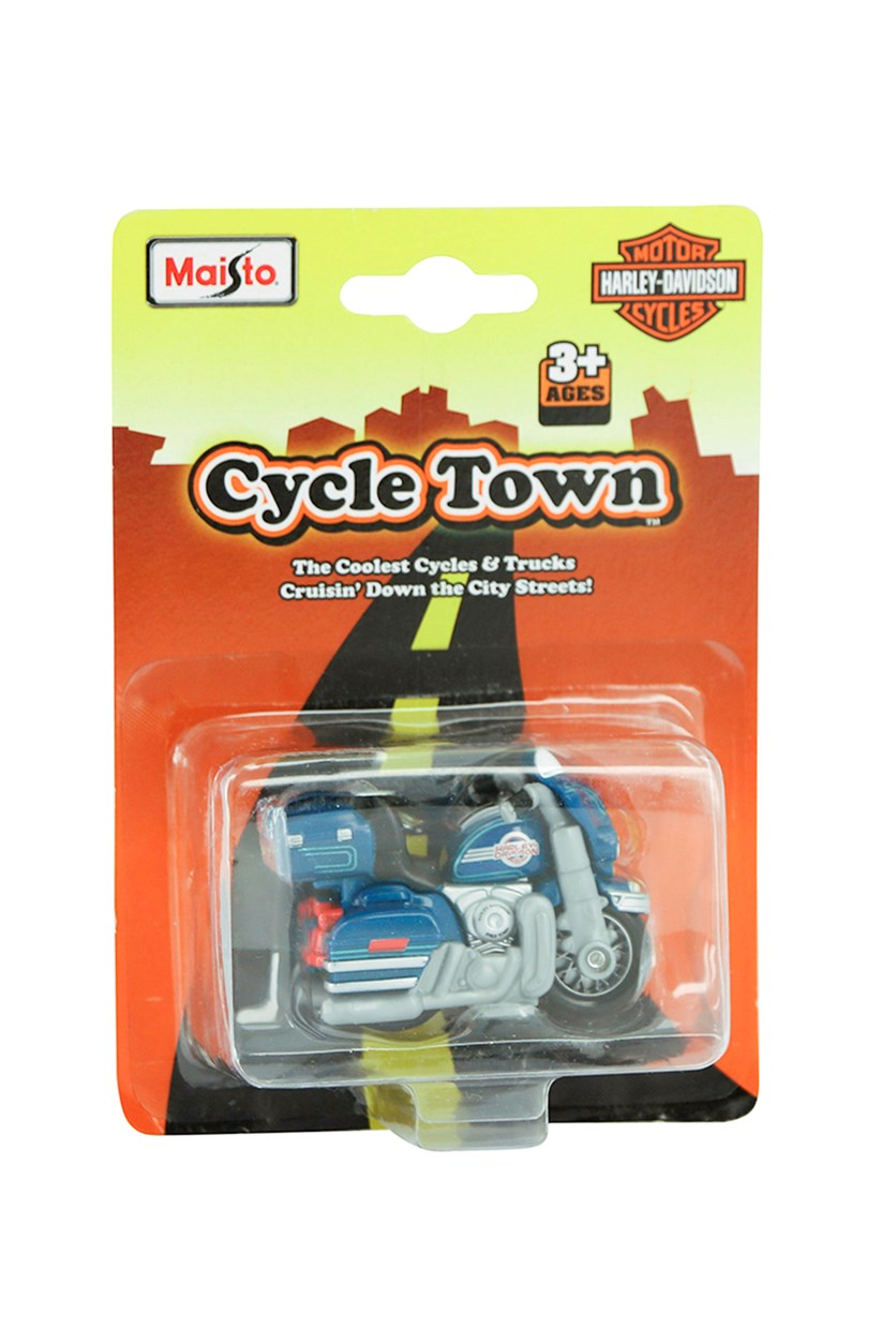 Cycle Town Harley Davidson Road Trip, Blue/Grey