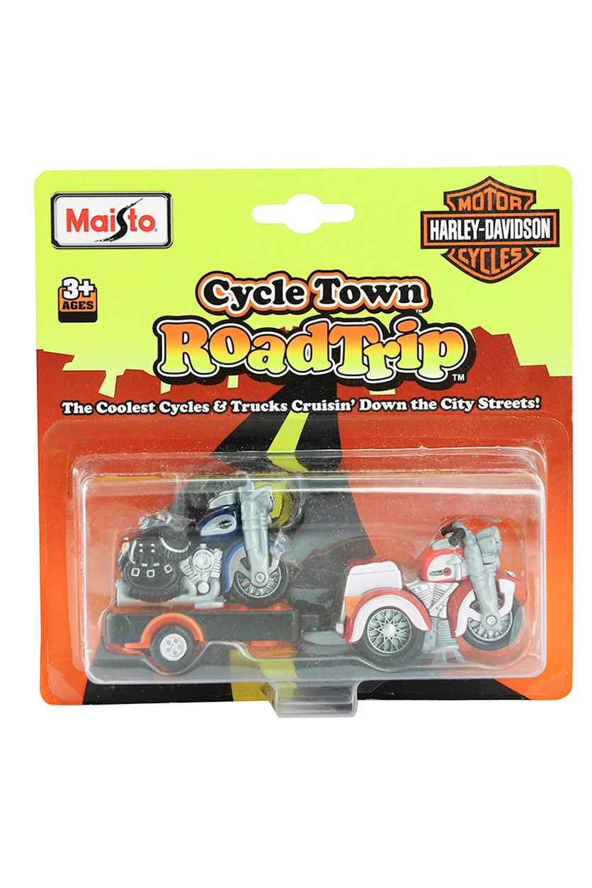 Cycle Town Harley Davidson Road Trip, Blue/Red