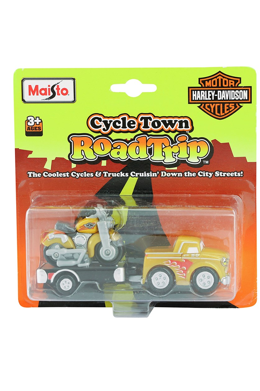 Cycle Town Harley Davidson Road Trip, Yellow/Black Combo