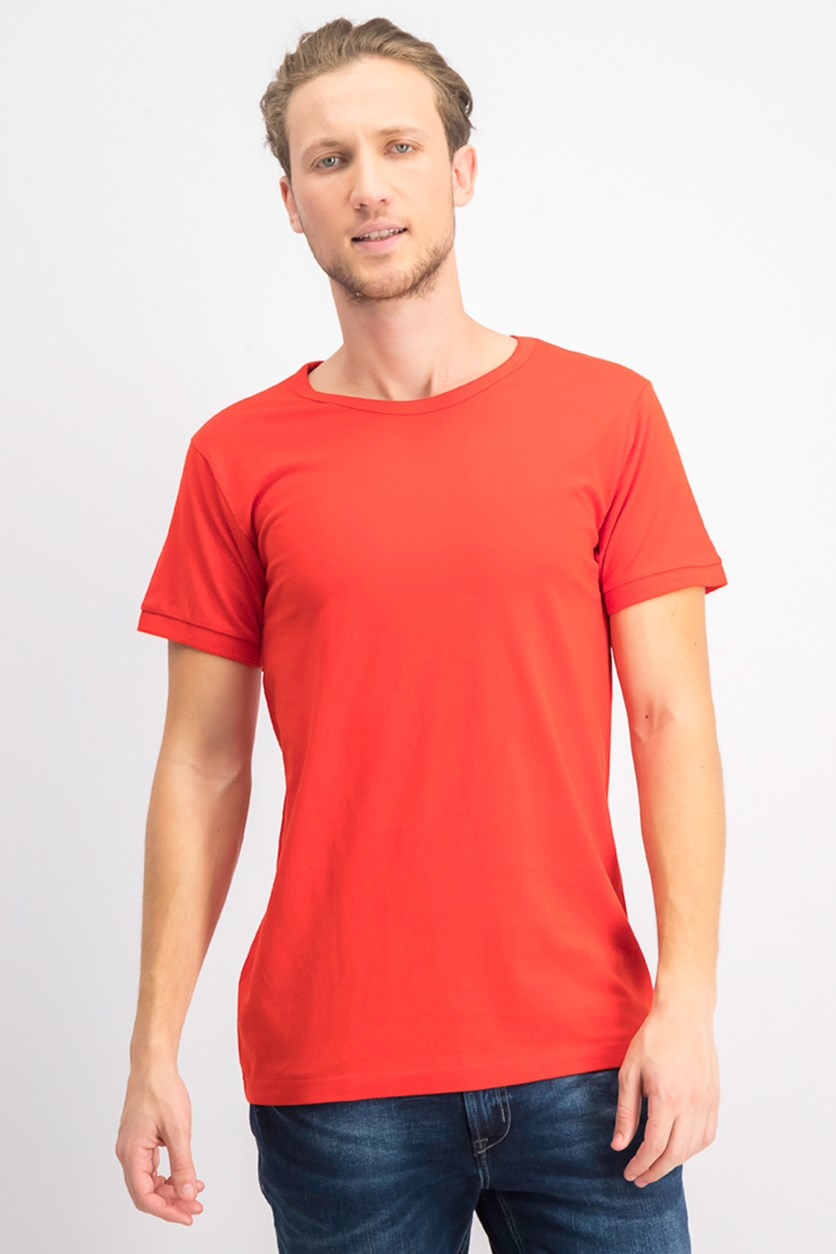 Men's Short Sleeve Tee, Red