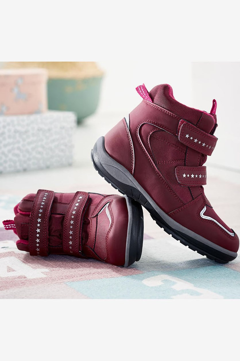 Girl's Thermo Boots, Bordeaux
