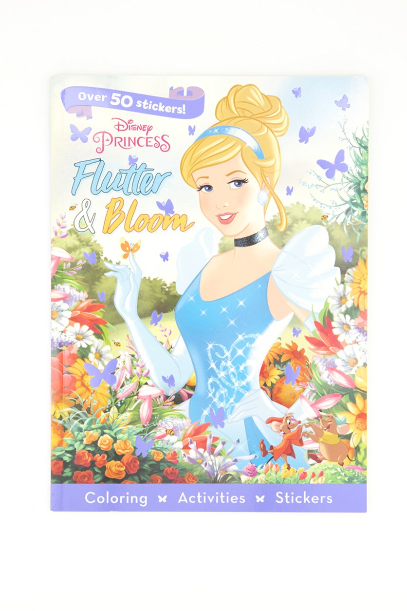 Flutter & Bloom 3 in 1 Sticker Story and Activity Set, Blue Combo
