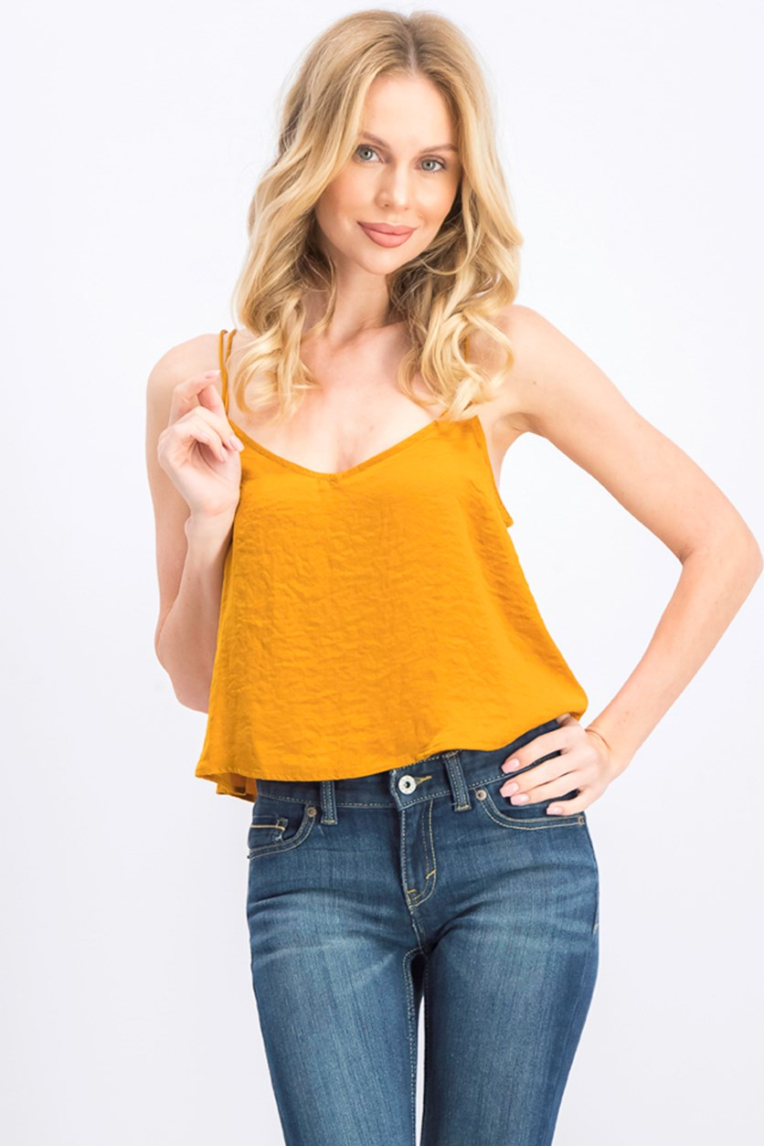 Women's Strappy Camisole, Gold
