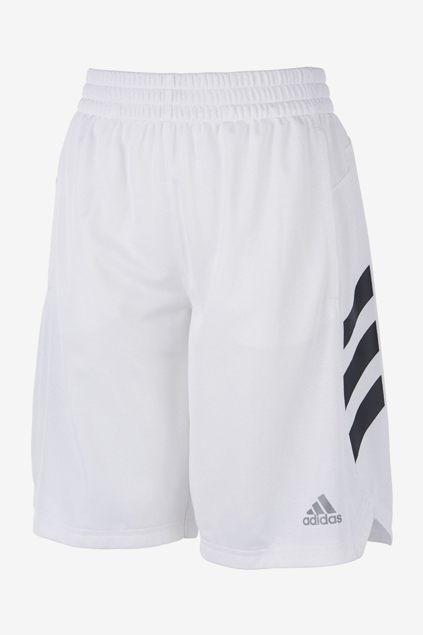 Big Boys Sport Shorts, White