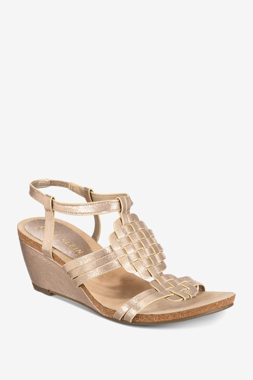 Women's Tilly Wedge Sandals, Gold