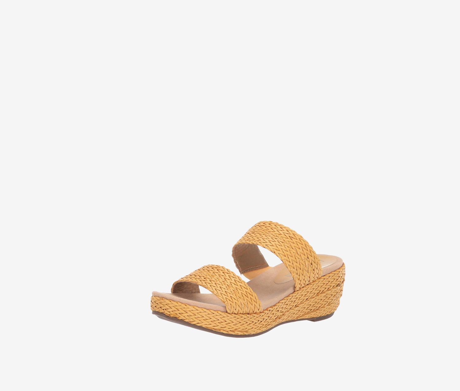 Women's Akzala Open Toe Casual Slide Sandals, Tobacco
