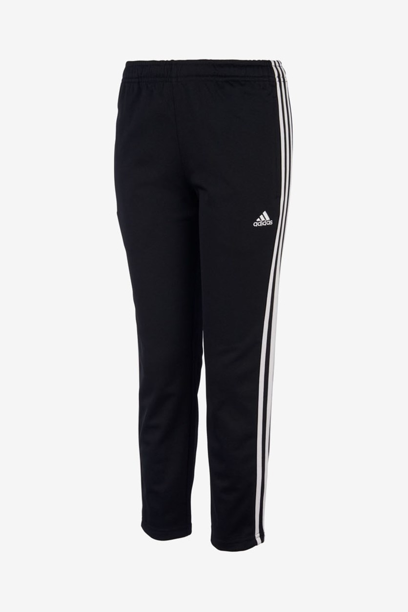 Big Girls Trainer Athletic Pants, Black/White